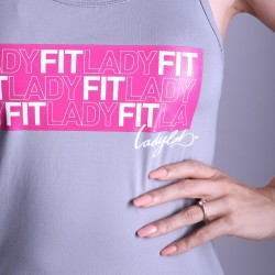 Ladylab Tílko LADY FIT - GREY