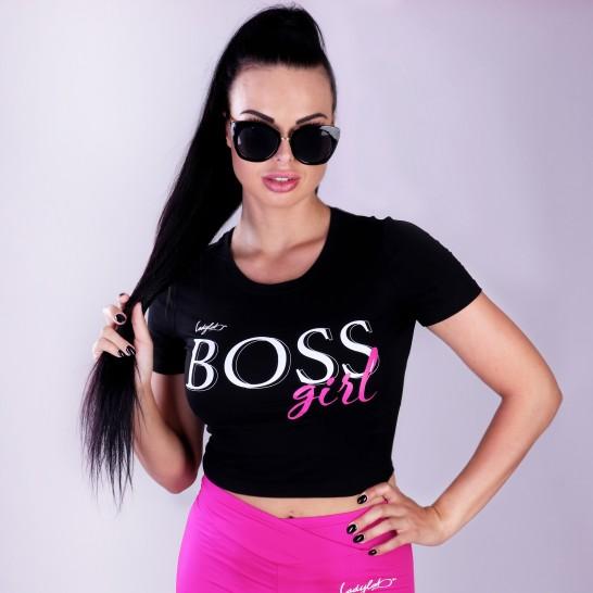 Ladylab Crop Top - BOSS Girl