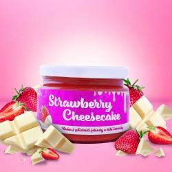 STRAWBERRY CHEESECAKE krém s příchutí jahody a čokolády