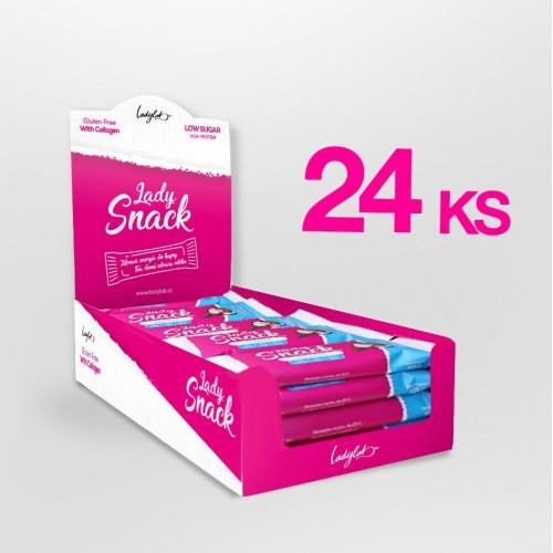 Karton Lady SNACK – Kokos (24 ks)