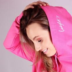 Ladylab Mikina s kapucí – PRINCESS PINK