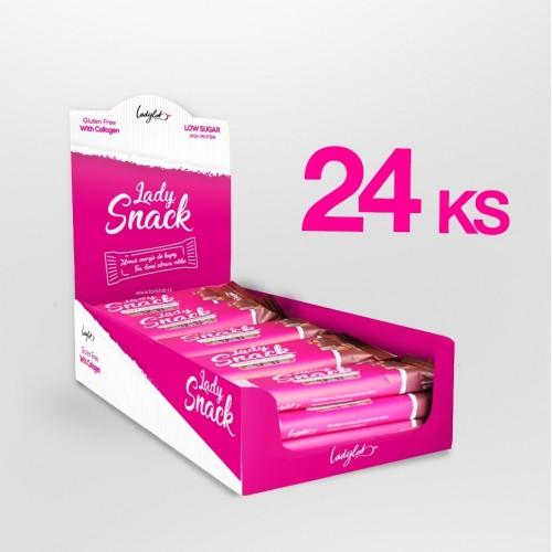 Karton Lady SNACK – Čokoláda s karamelem (24 ks)
