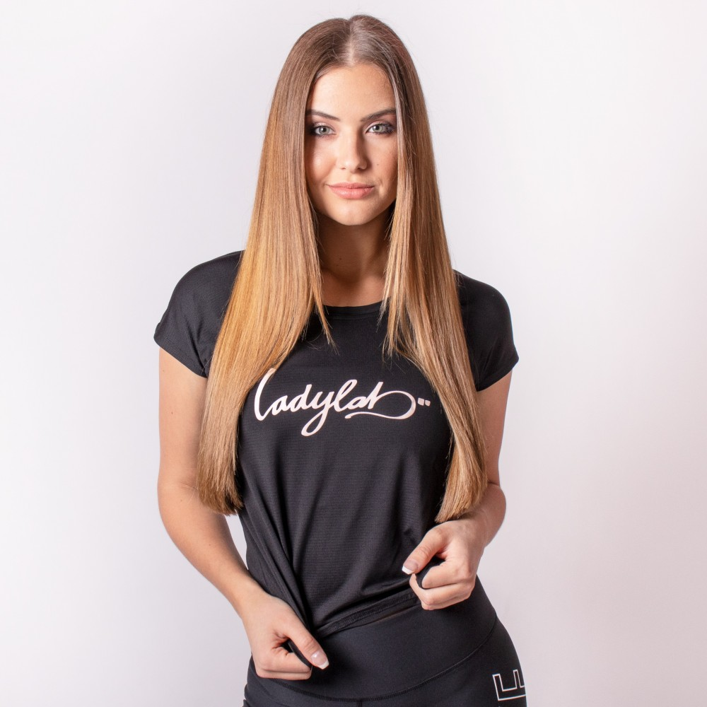 Ladylab Crop Top - BLACK