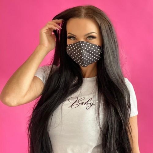 Mască de protecție Ladylab BLACK